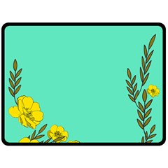 A New Day Double Sided Fleece Blanket (large)