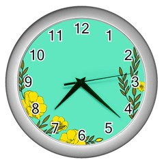 A New Day Wall Clocks (silver)