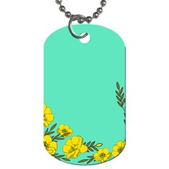 A New Day Dog Tag (two Sides)