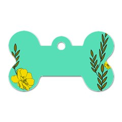 A New Day Dog Tag Bone (two Sides)