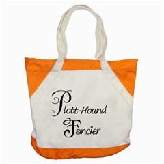 Plott Hound Fancier Accent Tote Bag