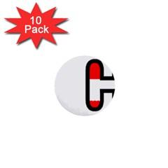 Plott Hound  Flag In Name 1  Mini Buttons (10 Pack)