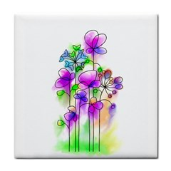 Flovers 23 Tile Coasters