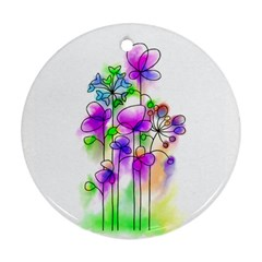 Flovers 23 Ornament (round)