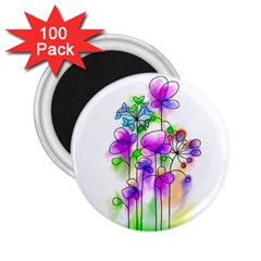 Flovers 23 2 25  Magnets (100 Pack)