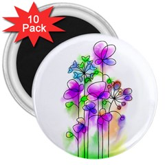 Flovers 23 3  Magnets (10 Pack)