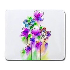 Flovers 23 Large Mousepads