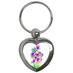 Flovers 23 Key Chains (heart)