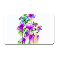 Flovers 23 Magnet (rectangular)