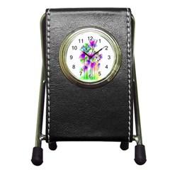 Flovers 23 Pen Holder Desk Clocks
