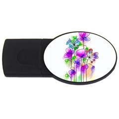 Flovers 23 Usb Flash Drive Oval (4 Gb)