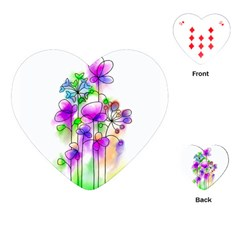 Flovers 23 Playing Cards (heart)