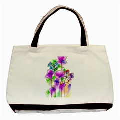 Flovers 23 Basic Tote Bag (two Sides)