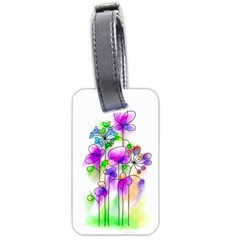 Flovers 23 Luggage Tags (one Side)