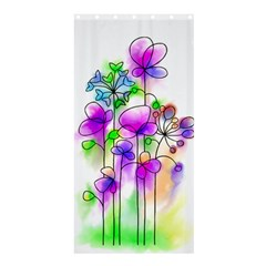 Flovers 23 Shower Curtain 36  X 72  (stall)