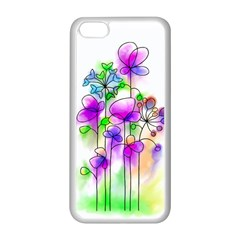 Flovers 23 Apple Iphone 5c Seamless Case (white)
