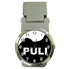 Puli Name Silhouette Money Clip Watches