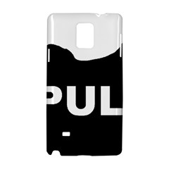 Puli Name Silhouette Samsung Galaxy Note 4 Hardshell Case