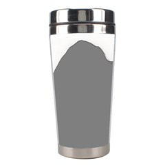 Puli Silhouette Grey Stainless Steel Travel Tumblers