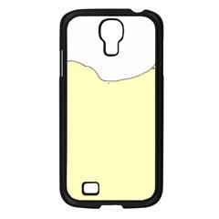 Puli Silhouette Cream Samsung Galaxy S4 I9500/ I9505 Case (black)
