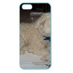 Puli Laying Apple Seamless Iphone 5 Case (color)