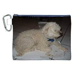 Puli Laying Canvas Cosmetic Bag (xxl)