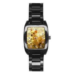 Podengo Podengo Sitting Stainless Steel Barrel Watch