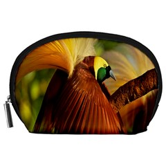 Birds Paradise Cendrawasih Accessory Pouches (large)
