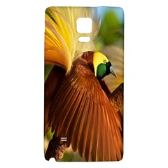 Birds Paradise Cendrawasih Galaxy Note 4 Back Case