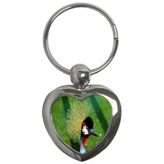 Bird Hairstyle Animals Sexy Beauty Key Chains (heart)
