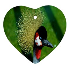 Bird Hairstyle Animals Sexy Beauty Heart Ornament (two Sides)
