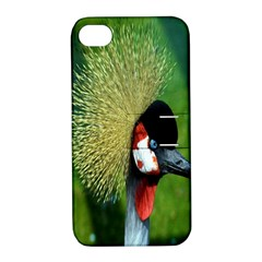 Bird Hairstyle Animals Sexy Beauty Apple Iphone 4/4s Hardshell Case With Stand