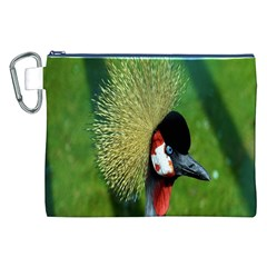 Bird Hairstyle Animals Sexy Beauty Canvas Cosmetic Bag (xxl)