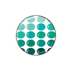 Bubbel Balloon Shades Teal Hat Clip Ball Marker