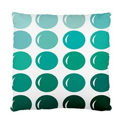 Bubbel Balloon Shades Teal Standard Cushion Case (one Side)