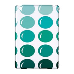 Bubbel Balloon Shades Teal Apple Ipad Mini Hardshell Case (compatible With Smart Cover)