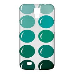 Bubbel Balloon Shades Teal Samsung Galaxy Mega 6 3  I9200 Hardshell Case