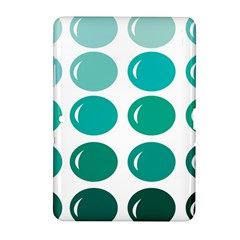 Bubbel Balloon Shades Teal Samsung Galaxy Tab 2 (10 1 ) P5100 Hardshell Case