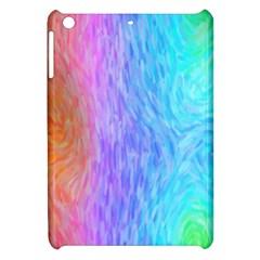 Aurora Rainbow Orange Pink Purple Blue Green Colorfull Apple Ipad Mini Hardshell Case