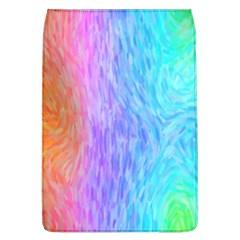 Aurora Rainbow Orange Pink Purple Blue Green Colorfull Flap Covers (l)