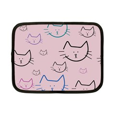 Cat Pattern Face Smile Cute Animals Beauty Netbook Case (small)