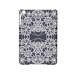 Blue White Lace Flower Floral Star Ipad Mini 2 Hardshell Cases