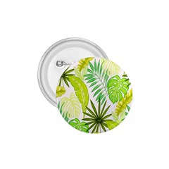 Amazon Forest Natural Green Yellow Leaf 1 75  Buttons