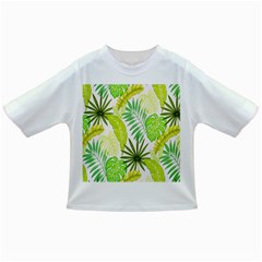 Amazon Forest Natural Green Yellow Leaf Infant/toddler T Shirts
