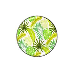 Amazon Forest Natural Green Yellow Leaf Hat Clip Ball Marker