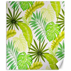 Amazon Forest Natural Green Yellow Leaf Canvas 20  X 24