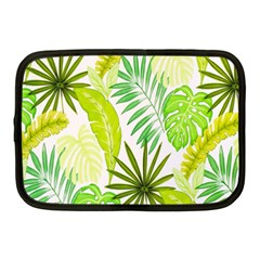 Amazon Forest Natural Green Yellow Leaf Netbook Case (medium)