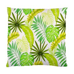 Amazon Forest Natural Green Yellow Leaf Standard Cushion Case (two Sides)