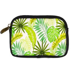 Amazon Forest Natural Green Yellow Leaf Digital Camera Cases
