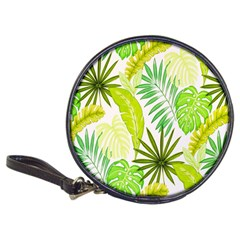 Amazon Forest Natural Green Yellow Leaf Classic 20 Cd Wallets